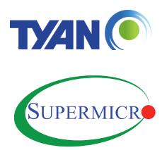 TYAN , Supermicro , Sunucu , Anakart , Kasa ,RAID Kartlar ve intel Xeon İşlemciler.