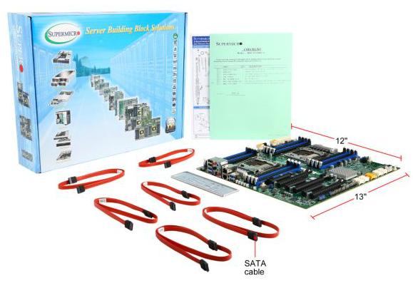 Supermicro Türkiye Distribütörü Garantili X10DAX Sunucu ve Grafik İş İstasyonu Workstation Anakartı