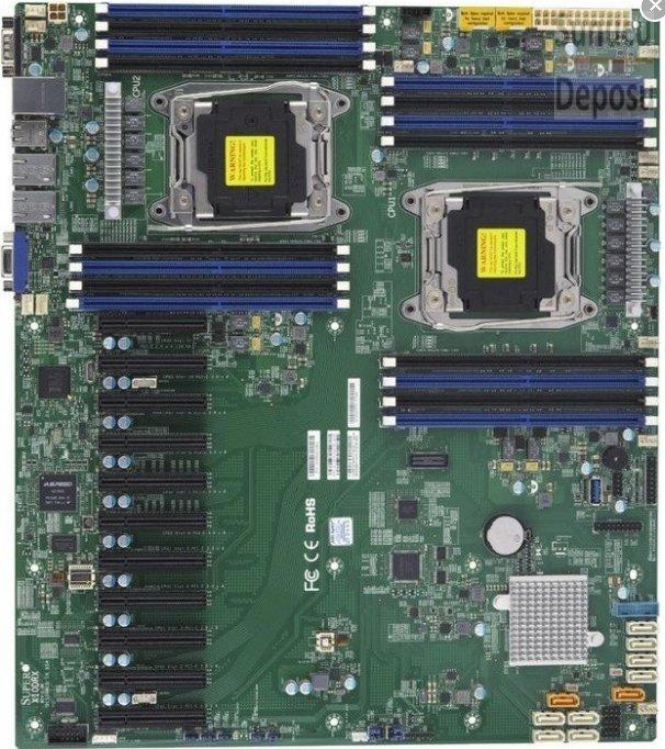 Supermicro SuperServer 6038R-TXR - 3U - 8x SATA 11x PCI-Exp.Slot