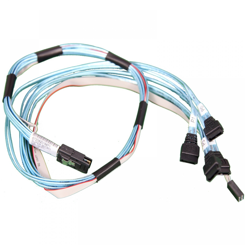 SFF-8087 SAS Kablo 4 SAS SATA Dİsk Bağlantı Kablosu