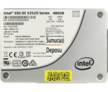 480 Gb intel Data Center Serisi SSD Disk S3520-480G