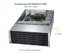 504 TB Raw Kapasiteli SuperStorage SSG-5049P-E1CTR36L Supermicro Sunucu