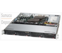 SYS-6018R-MT Supermicro SuperServer 1U Rackmount Sunucu * DATA CENTER * Optimize