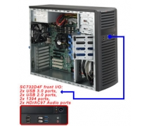 Supermicro CSE-732D4F-500B Workstation Kasası