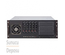 842XTQ-R606B Supermicro 4U Rackmount Redundant Power Supply Server Chassis
