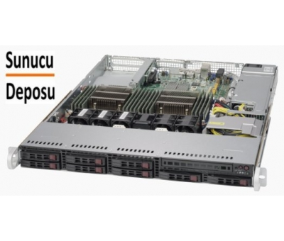 SYS-1028R-TDW Supermicro SuperServer Rackmount 1U Sunucu * DATA CENTER * Optimize