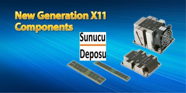 Supermicro X11 intel Scalable İşlemci Uyumlu Donanım Yedek Parçaları