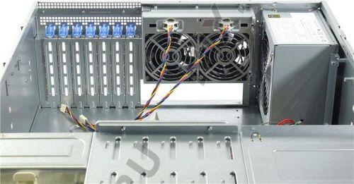 Chenbro RM413 Kasa yerine kullanılabileceğiniz Supermicro CSE-842I-500B 4U Rackmount Sunucu Kasası