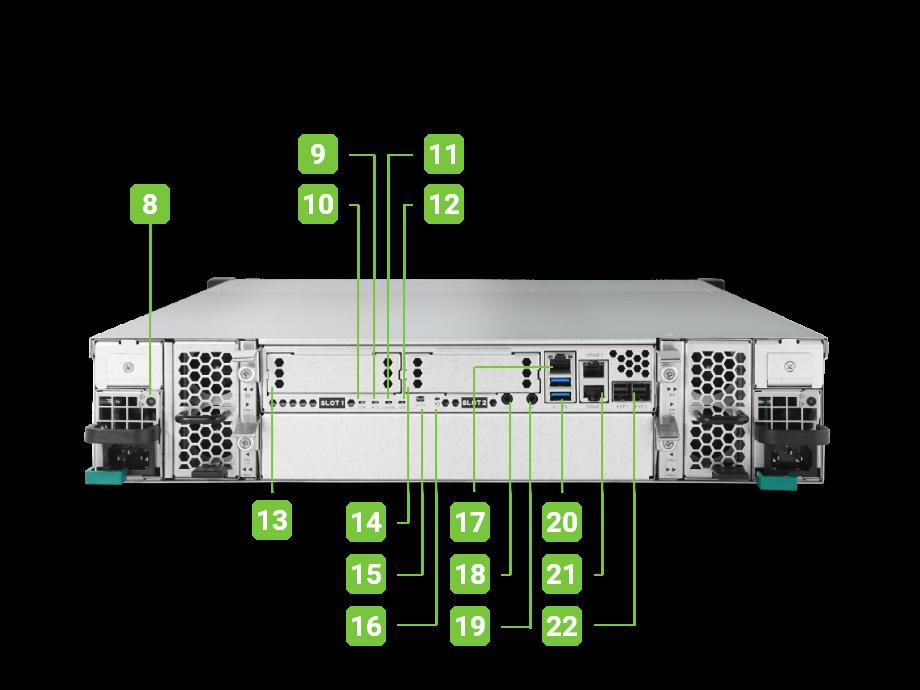 QSAN NAS XN8012S NAS Storage
