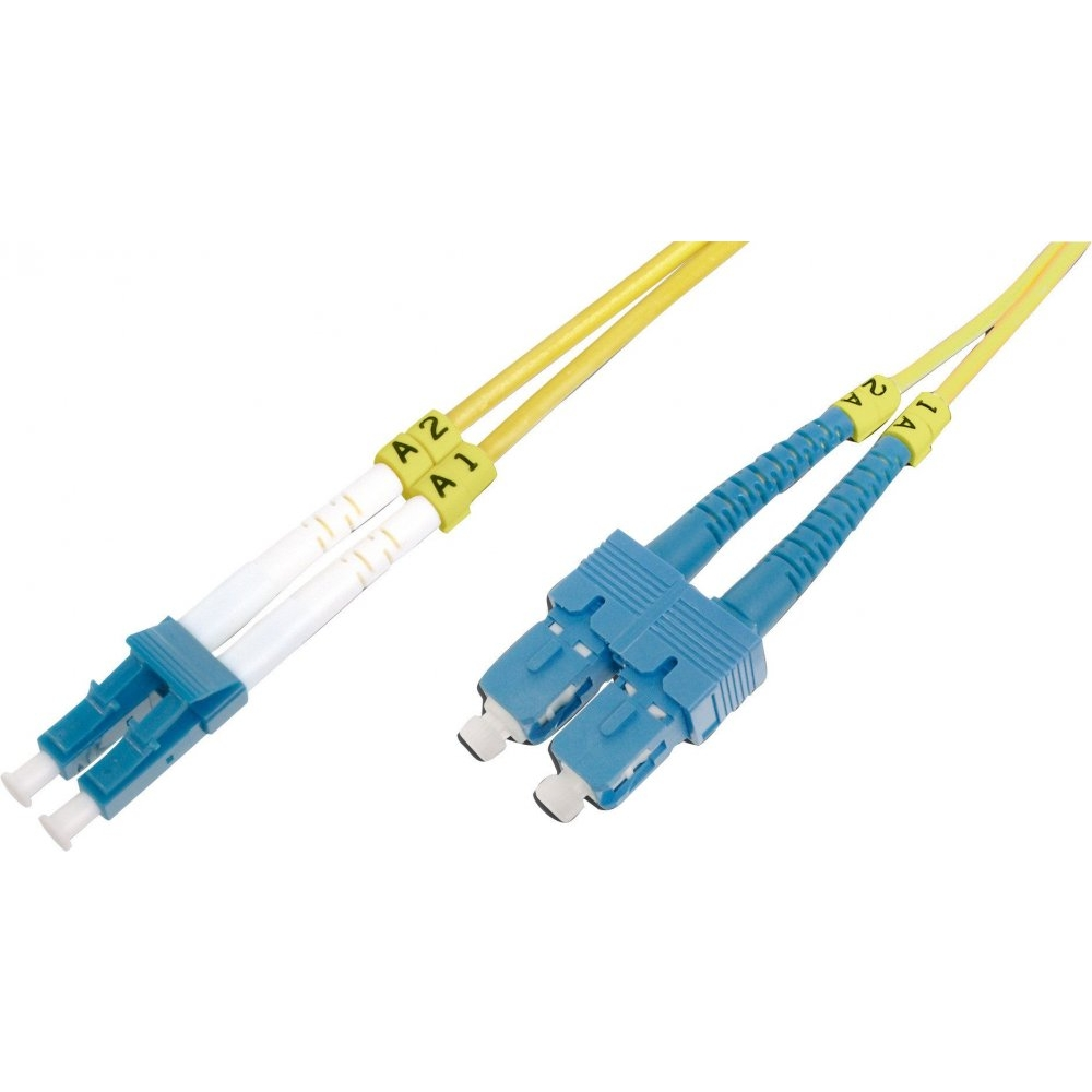 Fiber Optik Patch Kablo SM OS2 9u LC-SC/PC 2 metre Duplex