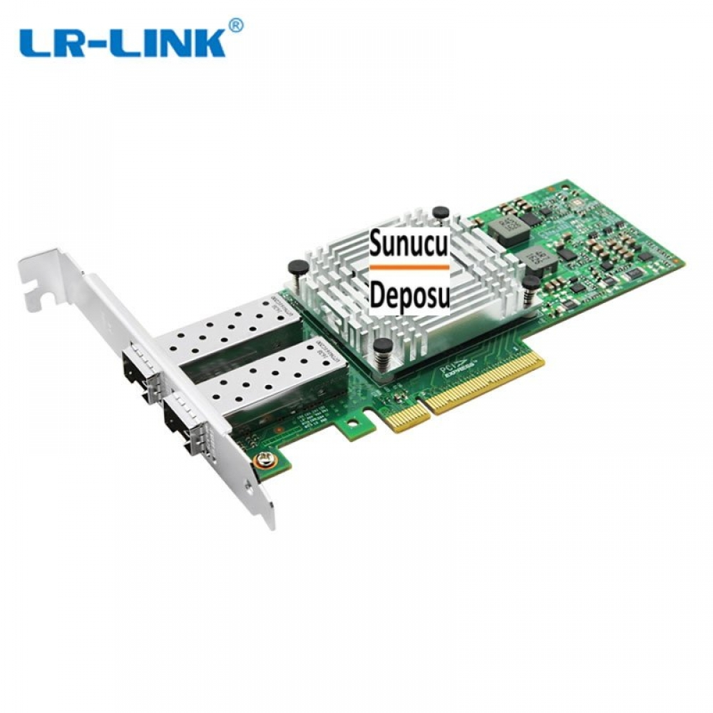 LREC9812BF-2SFP+ LR-Link PCI Express v3.0 x8 10Gigabit Dual-port Ethernet Server Adapter Intel X710 Based (2 x SFP+)