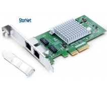 intel i350AM2 ChipSet 2 Portlu 1 Gigabit Ethernet Kart RJ45