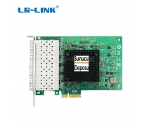 LR-Link LRES1006PF-6SFP Intel I350 Chipset 1Gbps PCIe x4 6 port Server Adapter ( 6 x SFP)
