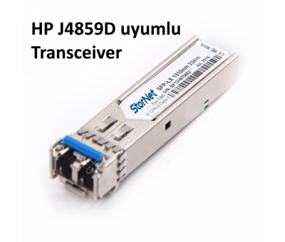 HP J4859D uygun 1000Base-LX  LC-20Km-1310nm-Single-Mode Sfp Transceiver